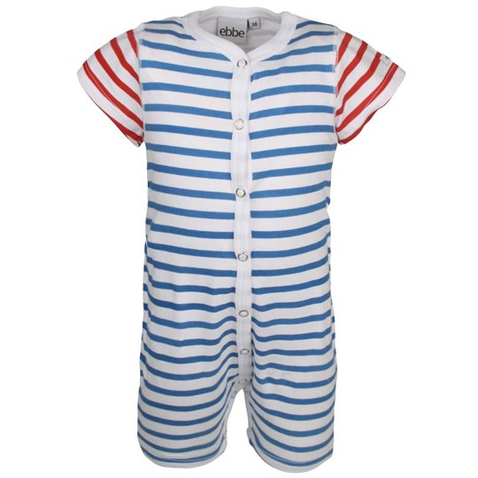 ebbe Kids Franky Beachsuit Red/White/Blu Red