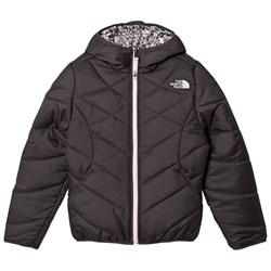 The North Face Grey Patterned Reversible Perrito Jacket