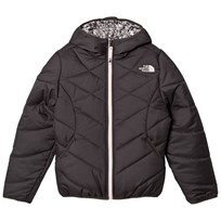 The North Face Grey Patterned Reversible Perrito Jacket 044 - Graphite Grey