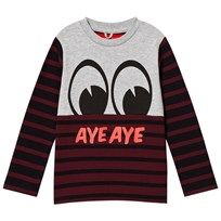 Stella McCartney Kids Red/Grey Eye Rock Tee 1461