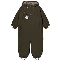 Mini A Ture Wisti M Snowsuit Grape Leaf Grape Leaf