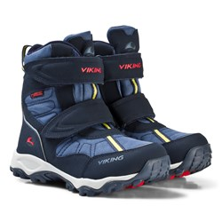 Viking BLUSTER II GTX Boots Navy/Red