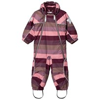 Molo Pyxis Baby Snowsuit Huckleberry Stripe Huckleberry stripe