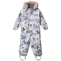 Molo Polaris Faux Fur Snowsuit Pony PONY