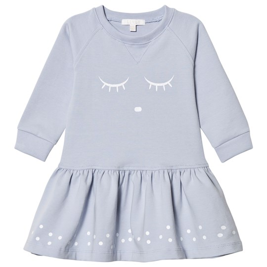 Livly Sweatshirt Dress Blue Sleeping Cutie Blue Sleeping Cutie