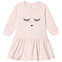 Livly Sweatshirt Dress Baby Pink/Sleeping Cutie Baby Pink/sleeping Cutie