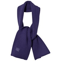 Acne Studios Wool Mini Bansy Scarf Royal Blue Blue