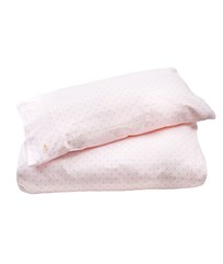 Livly Bedding Set Pink/ Gold Dots Pink/ Gold Dots