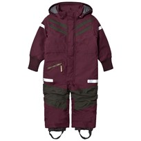 Didriksons Bark Kids Coverall Plum Plum
