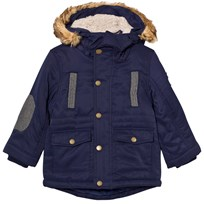 Mayoral Navy Padded Hooded Parka 13