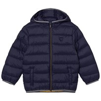 Mayoral Navy Lightweight Padded Hooded Coat 83