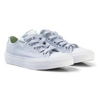 Converse White/Granite Chuck Taylor All Star II Junior Sneakers White/Blue Granite/White