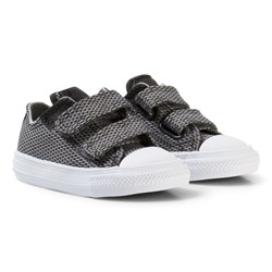 Converse Grey Chuck Taylor All Star II Infants Velcro Sneakers