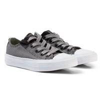 Converse Grey Chuck Taylor All Star II Junior Sneakers Storm Wind/Mouse/White