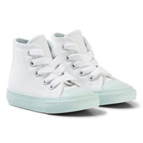 Converse White Chuck II All Star Hi Top with Mint Sole WHITE/FIBRE GLASS