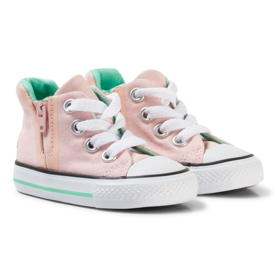 Converse Pink Watermelon Chuck Taylor Hi Tops Sneakers VAPOR PINK/WHITE
