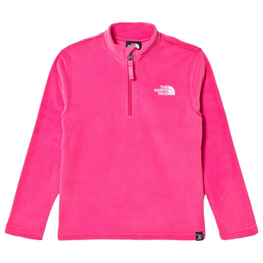 The North Face Pink Glacier 1/4 Zip Baselayer 79M - Petticoat Pink