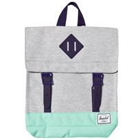 Herschel Survey Backpack Light Grey/Lucite Green Light Grey Crosshatch/Lucite G