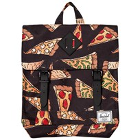Herschel Survey Backpack Black Pizza Black Pizza