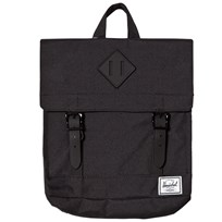 Herschel Survey Backpack Black Black/Black Rubber