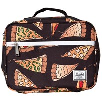 Herschel Pop Quiz Lunch Box Black Pizza Black Pizza