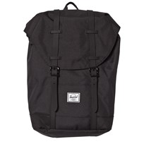 Herschel Retreat Youth Backpack Black Black/Black Rubber
