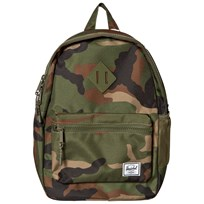 Herschel Heritage Youth Backpack Woodland Camo Woodland Camo/Army Rubber
