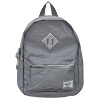 Herschel Heritage Kids Backpack Reflective Silver Silver Reflective Rubber