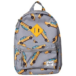 Herschel Heritage Kids Backpack Grey Taxi