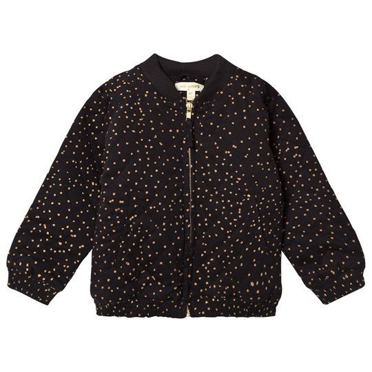 Soft Gallery Dagny Jacket Jet Black Dotties Jet Black, AOP Dotties