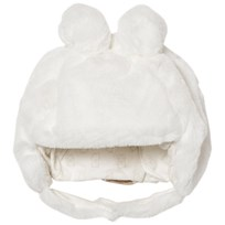 Mayoral Cream Faux Fur Teddy Hat 72