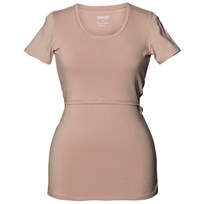 Boob Classic Top Short Sleeve Powder Beige powder beige