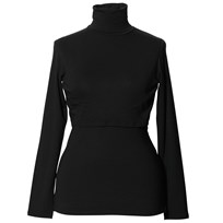 Boob Jackie Polo Neck Top Black Black