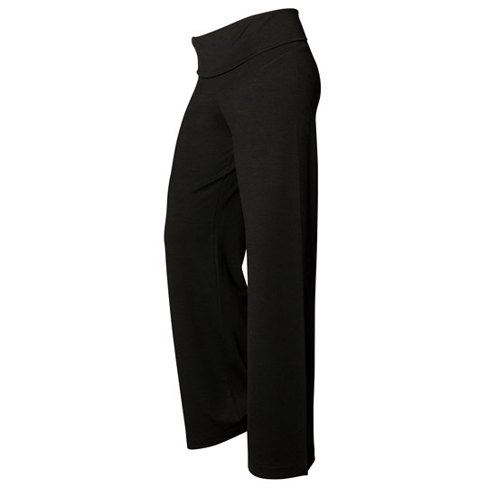 Boob Once-On-Never-Off Wide Pants Black Black