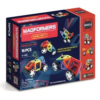 Magformers WOW 16 Piece Vehicle Set Unisex