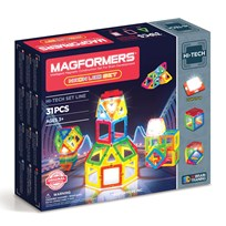 Magformers Neon LED 31 Piece Set Unisex