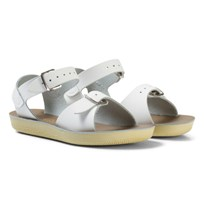 Salt-Water Sandals Surfer White White