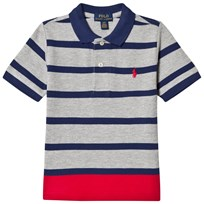 Ralph Lauren Grey Stripe Polo Shirt 003