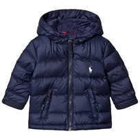 Ralph Lauren Navy Down Puffer Jacket 001