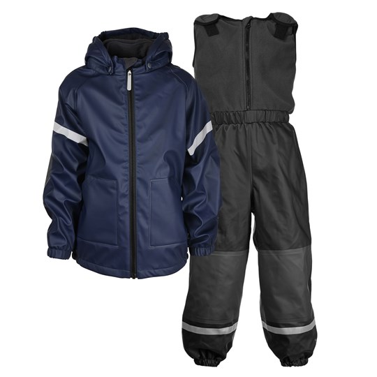 Kuling Kuling Outdoor, Regnställ, Fleece, Hagel Navy