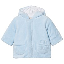 Emile et Rose Lenny Fleece Coat Pale Blue Pale Blue