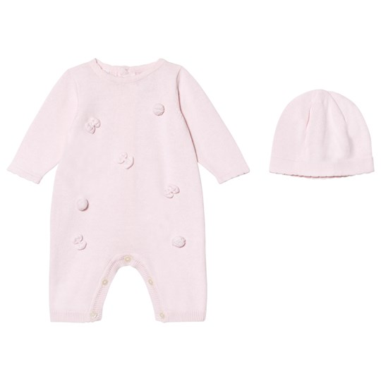 Emile et Rose Liz Pink Knitted One-Piece Pale Pink