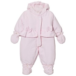 Emile et Rose Layla Pale Pink Padded Coverall