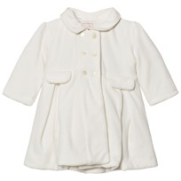 Emile et Rose Lucinda Cream Double Breasted Coat Set Ivory