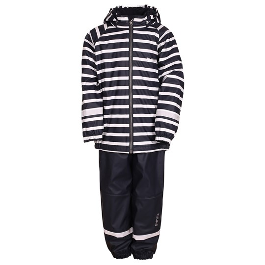 Kuling Kuling Outdoor, Regnställ, Fleece, Stripe, Navy