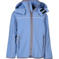 Kuling Softshell Jacket Riverstone Blue Blue