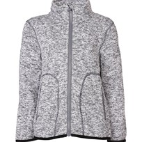 Kuling Knitted Fleece Jacket Grey Black