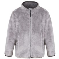 Kuling Teddy Jacket Pilé Grey Black
