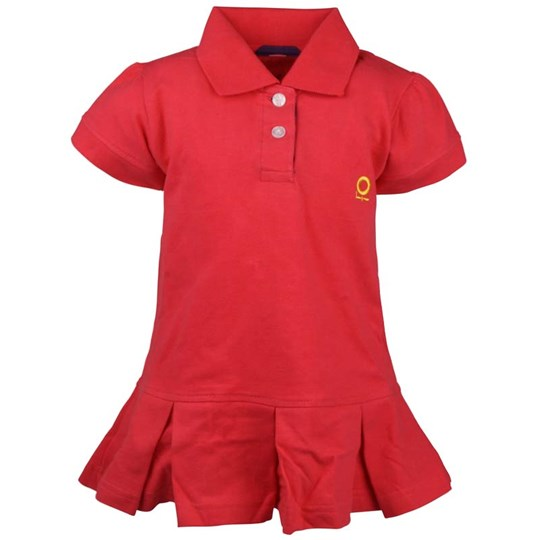 Katvig Polo Dress Berry Red