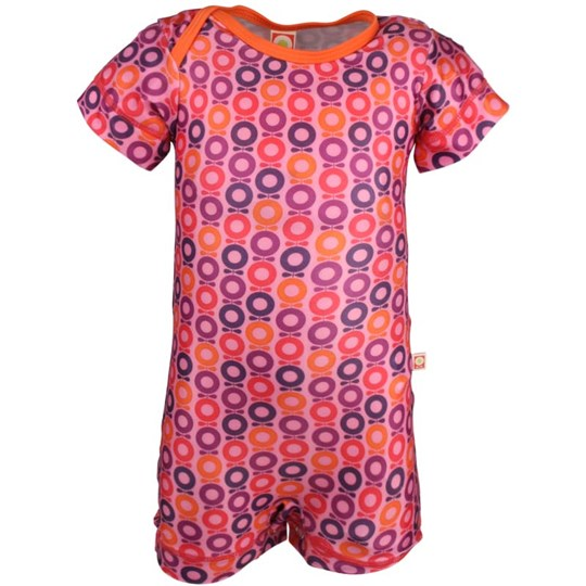 Katvig Baby Swimsuit Pink & Orange Mini Apple Pink